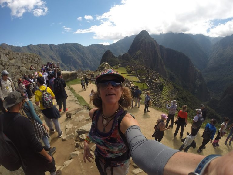 2017 Hiking in Machu Picchu