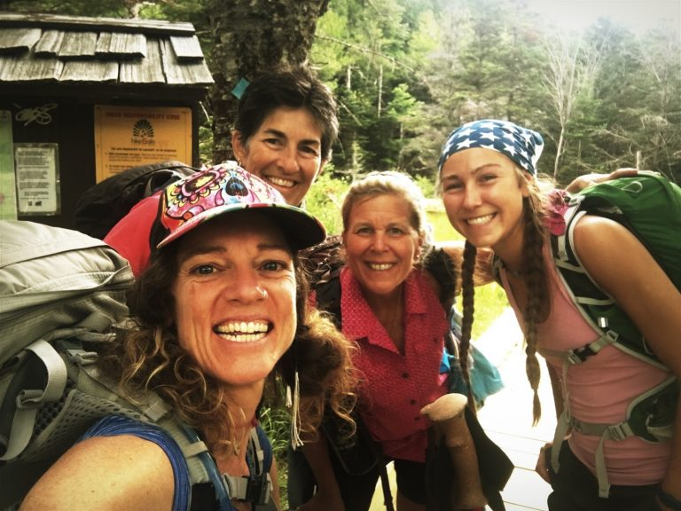 women hikers