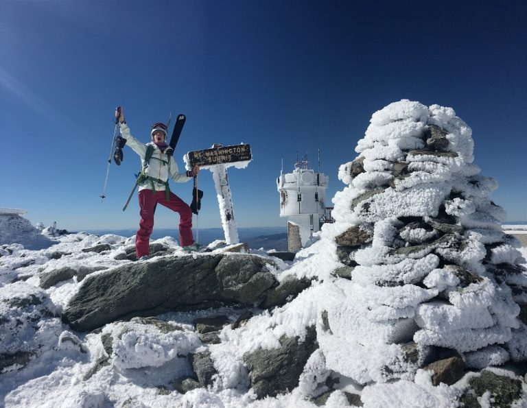 Bagging Mt. Washington for the second time